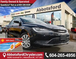 2016 Chrysler 200 LX New Showcase Vehicle
