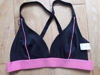 Boohoo Rebecca Fit Cross Back sport bra