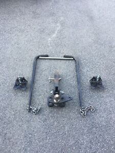 Trailer Sway bars and receiver