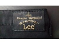 Vivienne Westwood Anglomania For Lee Skinny Jean in Black - Womens - W27 L31