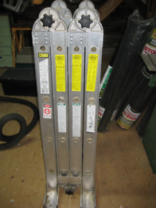 Extra Heavy Duty Aluminum Combination Ladder