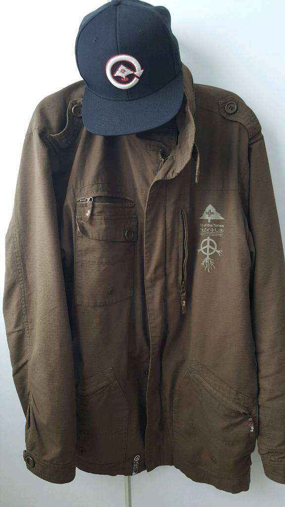 Lifted research group LRG coat & snapback