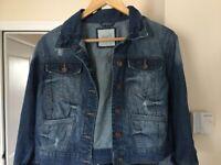 Jeans jacket size 16