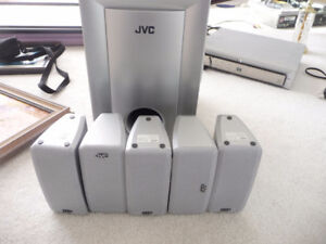 JVC Surround Sound Unit and Speakers