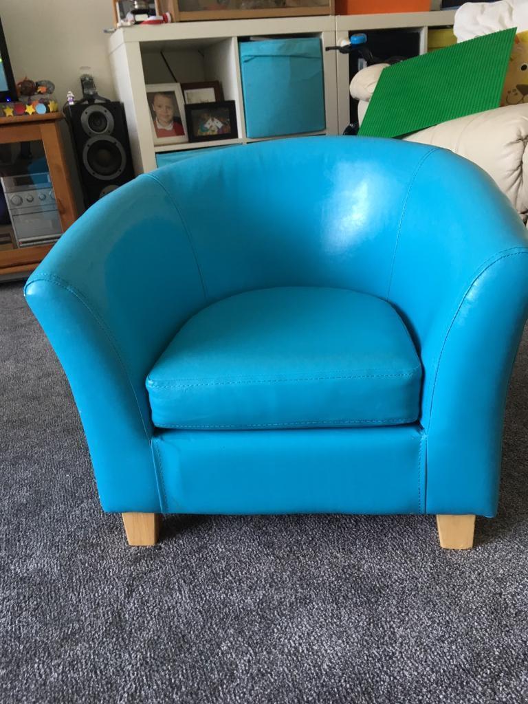 Dunelm child\'s tub chair | in Leighton Buzzard, Bedfordshire | Gumtree