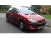 2003 PEUGEOT 206 HDI FULL DOCUMENTED SERVICE HISTORY
