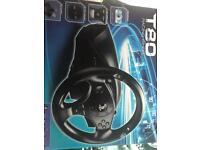 Thrustmaster T80 racing steering wheel