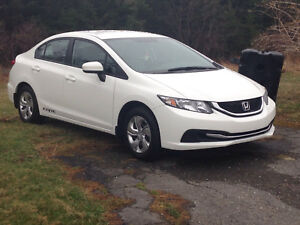 Payment take-over on 2014 Honda Civic like new!
