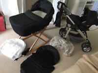 Silver Cross Linear Sleepover Travel System