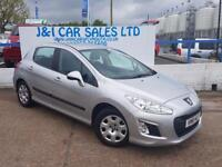 PEUGEOT 308 1.6 E-HDI ACCESS 5d AUTO 112 BHP A GREAT EXAMPLE I (silver) 2011