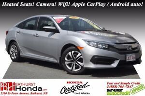 2017 Honda Civic Sedan LX Heated Seats! Backup Camera! Bluetooth