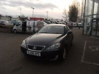2008 08 LEXUS IS 2.2 220D 4D 175 BHP **** GUARANTEED FINANCE **** PART EX WELCOME ***