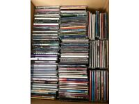 CDs singles collection from late 1990s 100+