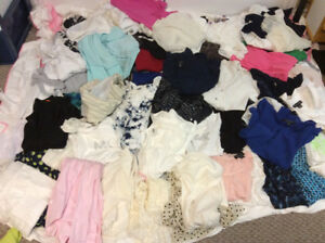 101 Ladies Blouses and Tops size medium