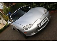 2004 Mazda MX-5 1.8i convertible, low mileage, good condition, priced to sell