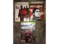 XBox 360 Games Bundle: The Godfather II, Far Cry 4, Just Cause.