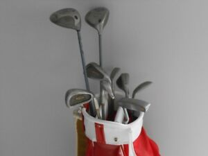 womens golf clubs with new light weight bag