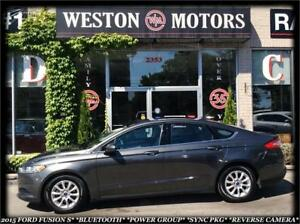 2015 Ford Fusion S *BLUETOOTH *PWR GROUP *SYNC PKG *REVERSE CAME