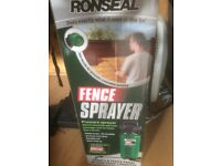 New Ronseal Pressure Fence Sprayer