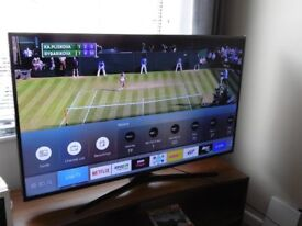 """SAMSUNG 55"""" SMART 4K ULTRA HD HDR LED TV WITH FREEVIEW HD. **SEE DESCRIPTION**"""