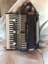 SCANDALLI 120 base piano accordion model 14