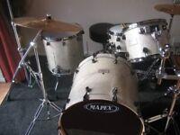 Mapex Saturn Drum Kit & Sabian AAX Cymbals