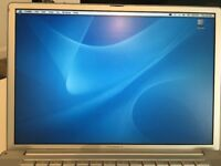 "Apple Powerbook G4 15"", 1GHz, 512kb, 256mb memory, 75GB HD"
