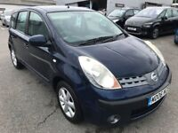 Exceptionall Low Mileage 2006 Note 1.6 SE AUTOMATIC 18000 Miles Only! HPI Clear And FSH July 18 MOT!