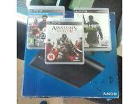 Playstation 3 12GB plus 3 games.VGC