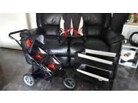 Dolls pram.bouncy chair.crib