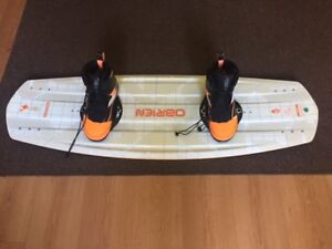Obrien 134 Paradigm Wakeboard with 9-11 and 6-8 Nomad bindings