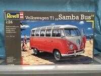 Samba Bus (VW) Plastic Model (Unused)
