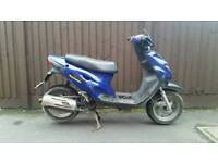 Generic cracker 50cc Needs work! Speedfight sym zip 50 CC moped scooter yamaha aerox jog r lexmoto