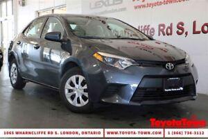 2014 Toyota Corolla LE ECO HEATED SEATS & BACKUP CAMERA- $239 MO