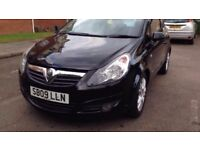 Vauxhall Corsa 1.2 SXI 3 door 2009 MOT till March 2018 69K Mileage