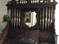 Ornate Harmonium - Pipe Organ in Original Condition