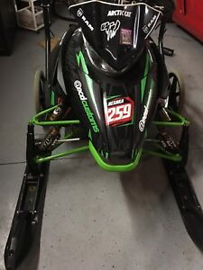 2015 Arctic Cat 600 Tucker Hibbert edition