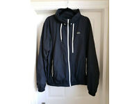Lacoste Men's Black Windbreaker Jacket Size 58