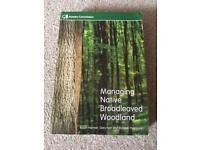 Textbook managing native broadleaved woodland