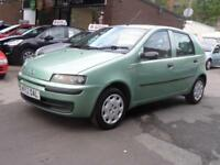 Fiat Punto Active 5dr 2002/52 Petrol Manual Ideal 1st Car Cheap Runner S/History