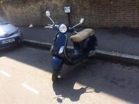 2009 59 Vespa lx 125cc 1 years mot 2 keys £1350ono