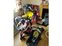 Cosatto woop full travel system