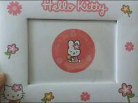 2x hello kitty photo frames
