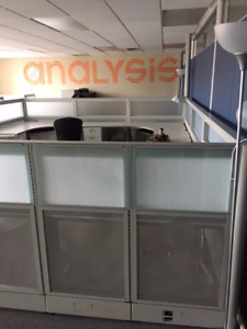 Steel Case Office Cubical's and Workstation - Like New Must Sell