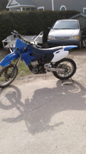 1999 yamaha wr400f with ownership