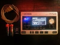 BOSS BR-80 BR80 - BUSK - PRACTICE - DIGITAL RECORDER - PORTABLE STUDIO - MULTI TRACK – GUITAR