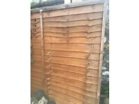 Fence panel good condition 6ft