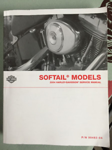 Service Manual for 2004 Softail