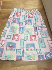 Girls Princess Curtains With Blackout Lining VGC