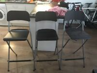 IKEA Franklin bar stools x 3 (£30 for all) hardly used